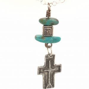 Old Pewter Cross
