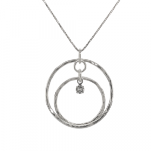 Double Lunar Orbit Necklace