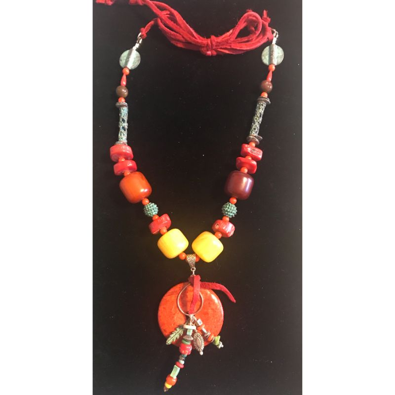 red-coral-donut-bead-focal