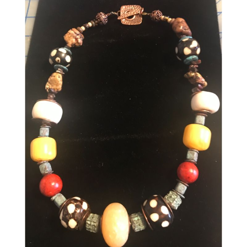 african-trade-beads-copal-beads