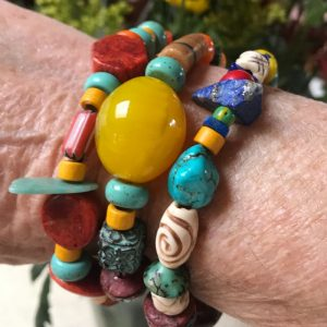 African Trade Bead Jewelry Collection