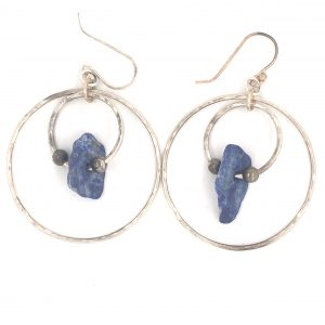 double-hoop-lapis-earring